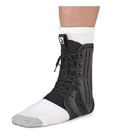 Ossur Ankle Brace Left or Right Foot, Black - Small