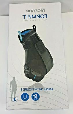 OSSUR NEW FormFit Ankle Braces with Figure 8 Size Medium