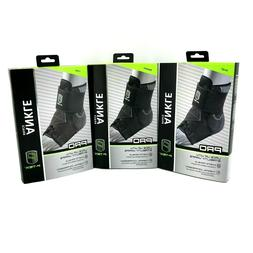 P-TEX Pro Lace-Up Ankle Brace with Stability Wraps - Black #