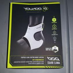 DonJoy Performance POD ANKLE BRACE Large White New NIB