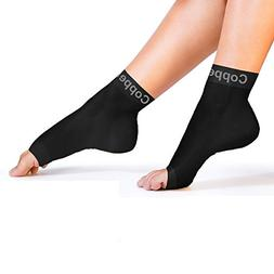 Copper Compression Recovery Foot Sleeves / Plantar Fasciitis