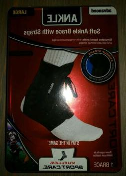 Mueller Soft Ankle Brace Running Support w/ Wraparound Strap