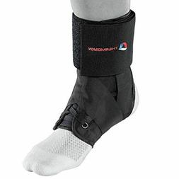 Thermoskin Sport Ankle Brace Black Taping Recovery Support R