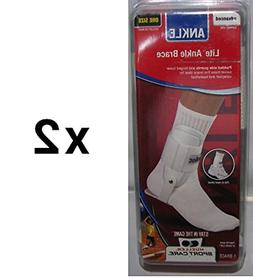 Mueller Sports Lite Active Hinged Ankle Brace Volleyball Bas