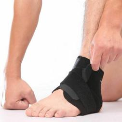 2x Adjustable Ankle Brace Foot Open Support Compression for