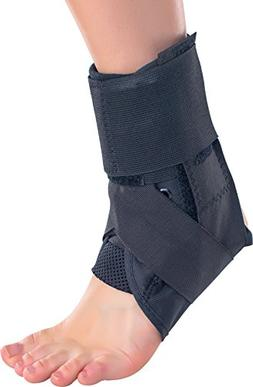 stabilized ankle support brace