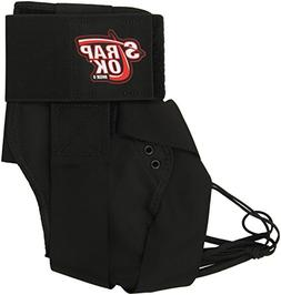 Swede-O Strap Lok Ankle Brace, Black, Small