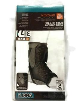 Shock Doctor Ultra Gel Lace Ankle Support Black Small