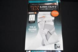 Shock Doctor V-Flex Ankle XT Brace for Left Ankle, White, Me
