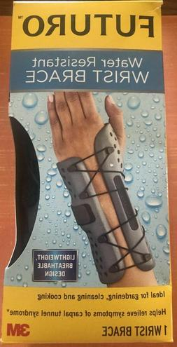Futuro Water Resistant Wrist Brace, Firm Stabilizing Support