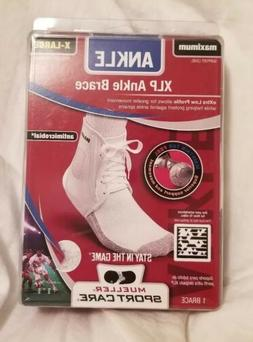 Mueller XLP Ankle Brace, White, X-Large, Women's 14-16, Men'